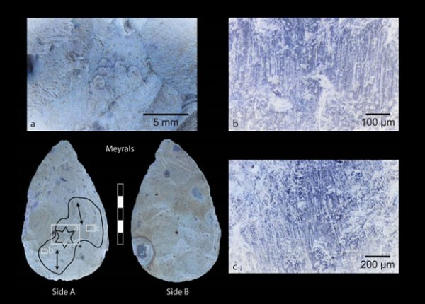 Ученые заподозрили неандертальцев в умении добывать огонь с помощью огнива