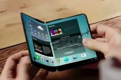 Samsung выпустит смартфон с гибким экраном