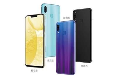 Huawei Nova 3i: смартфон с 4 камерами и большим экраном за $300