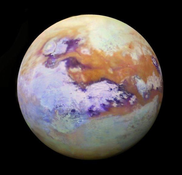 Инфракрасные снимки Титана очаровывали пользователей Сети своей красотой