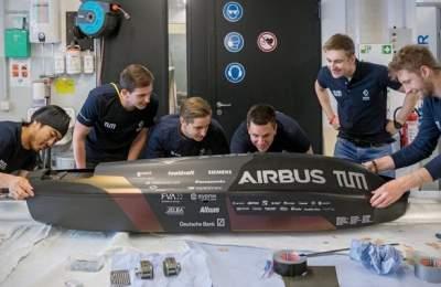 Капсула Hyperloop установила новый рекорд