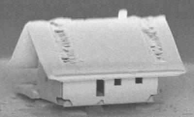 Создан самый маленький дом в мире