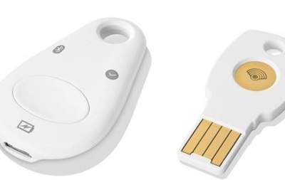 Google выпустил брелок для хранения паролей