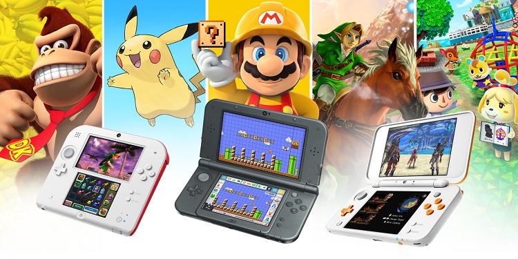 Популярность Nintendo 3DS с годами только растёт: «Для детей она становится вратами к Nintendo Switch»