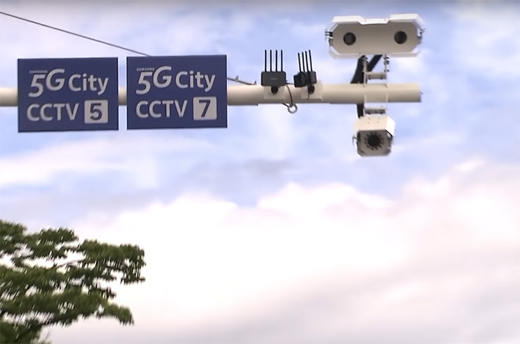 «Город 5G»: инфраструктура будущего в представлении Samsung