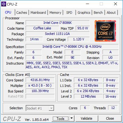 Новая статья: Обзор процессора Core i7-8086K: праздник к нам приходит?