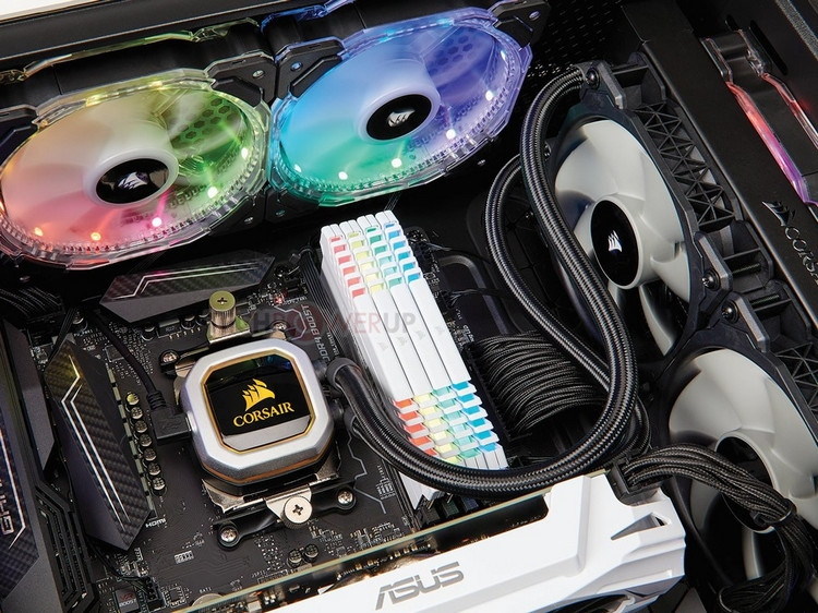 Corsair готовит необслуживаемую СЖО Hydro H100i Pro с автоматическим отключением вентиляторов