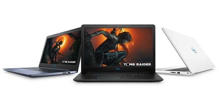 В России начались продажи новых игровых ноутбуков Alienware и Dell серий G3/G5