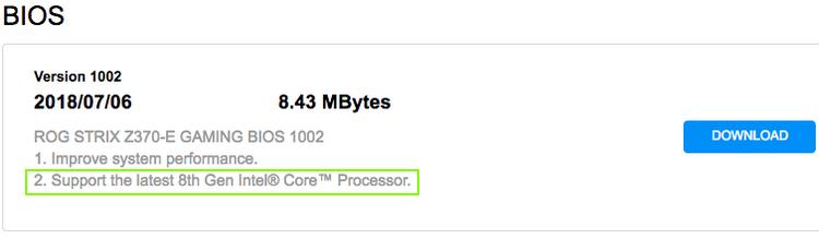 Материнские платы на Intel Z370 будут поддерживать 8-ядерные процессоры Intel Coffee Lake
