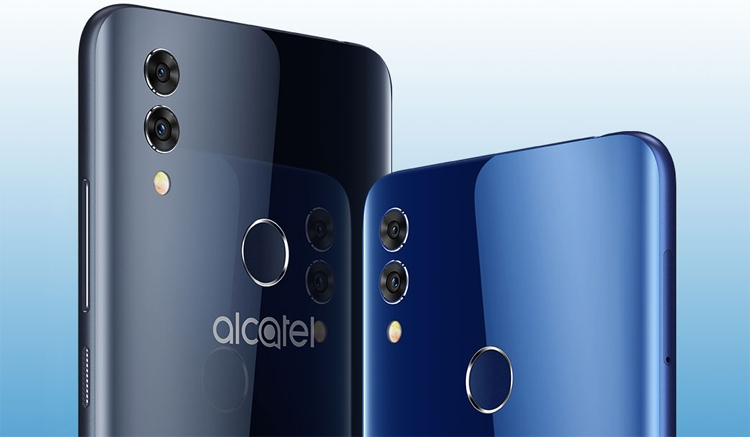 Смартфон Alcatel 5V получил три камеры и процессор Helio P22