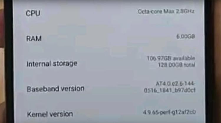Смартфон Xiaomi Pocophone F1 замечен в Интернете