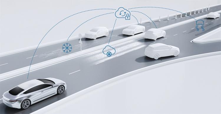 Bosch развернёт сервис обмена данными о дорожных условиях