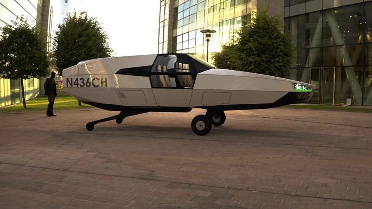 Начинается разработка «летающего автомобиля» CityHawk