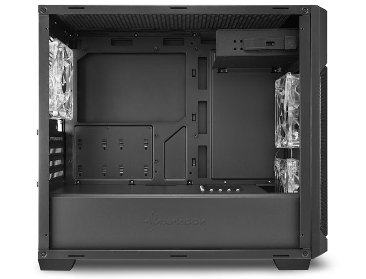 Sharkoon V1000 Window: ПК-корпус для плат формата Micro-ATX