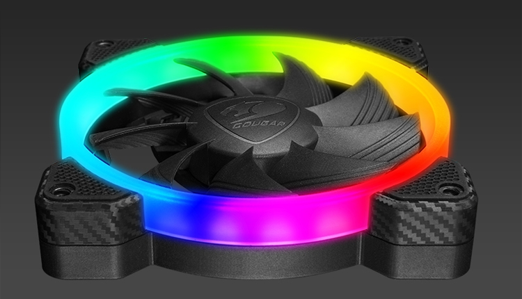 Комплект Cougar Vortex RGB HPB 120 позволит организовать эффектную систему охлаждения
