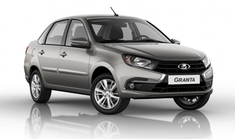 Новый седан LADA Granta получил «ИКС-образный» дизайн