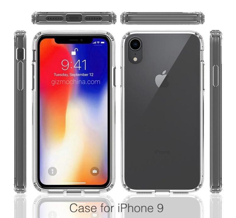 Производитель аксессуаров раскрыл дизайн смартфона Apple iPhone 9