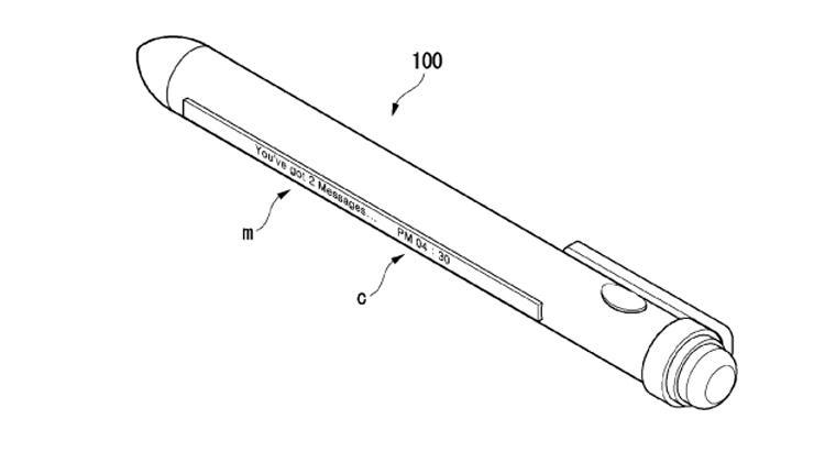 В LG изобрели «умную» ручку с вытягивающимся дисплеем