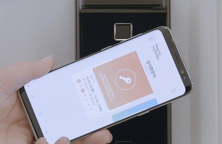 Представлен «умный» дверной замок Samsung с поддержкой Wi-Fi