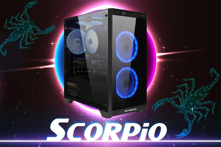 Корпус Xigmatek Scorpio подходит для плат Micro-ATX