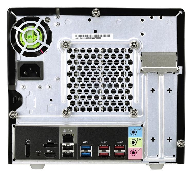 Barebone-система Shuttle XPC SH370R6 позволяет создать мощный и компактный ПК