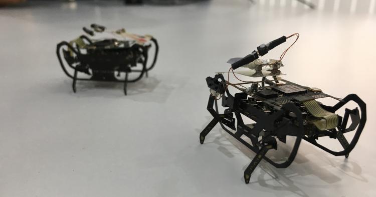 Rolls-Royce разрабатывает крошечных роботов-тараканов для осмотра двигателей самолётов