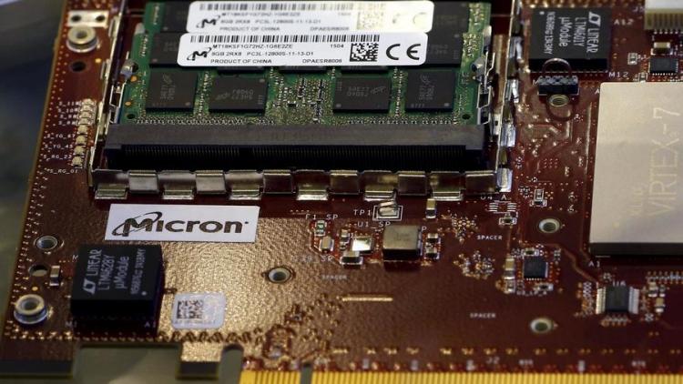 Компании Micron временно запретили продажу чипов в Китае