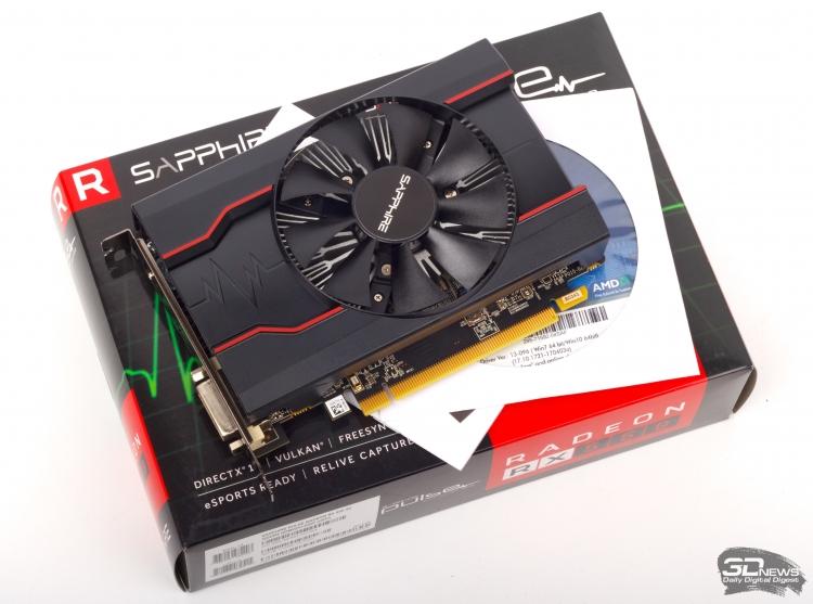 Новая статья: Обзор видеокарты SAPPHIRE PULSE Radeon RX 550 на GPU Polaris 11