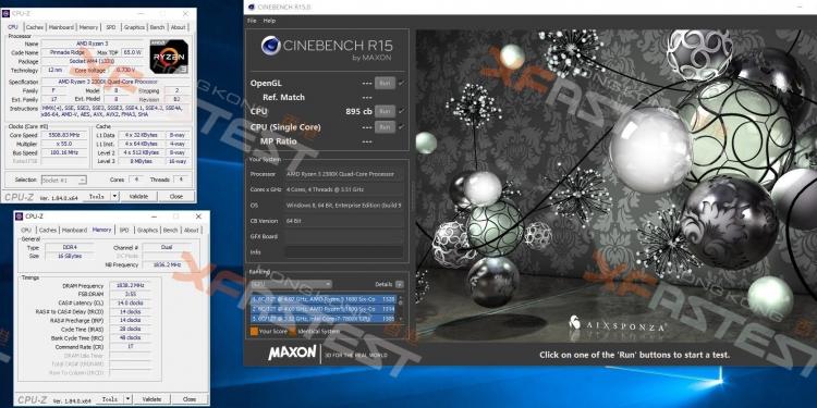 Новые результаты тестов Ryzen 3 2300X и Ryzen 5 2500X: теперь с экстремальным разгоном
