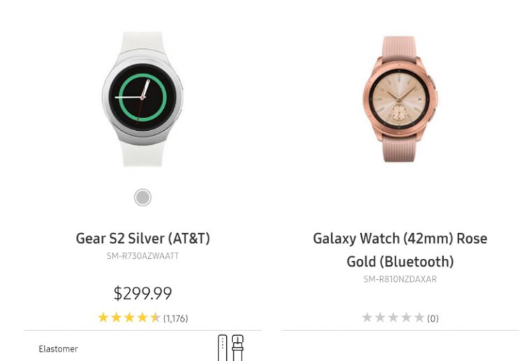 На сайте Samsung «засветились» смарт-часы Galaxy Watch