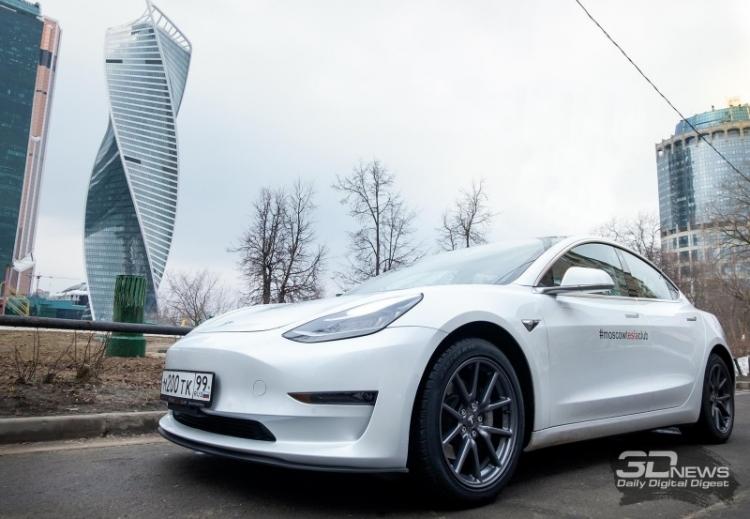 «Связной» рассказал о заказах электромобилей Tesla