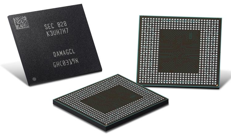 В Samsung начат выпуск памяти LPDDR4X для смартфонов следующего поколения