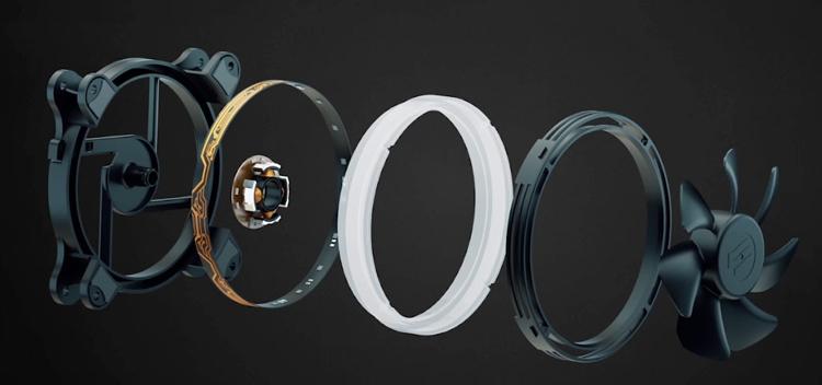 SilentiumPC Sigma Pro Corona RGB 120 Kit: комплект вентиляторов с подсветкой