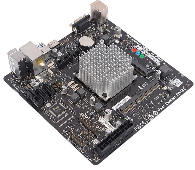 Плата SUPoX J3160NX7 позволяет сформировать бесшумный неттоп