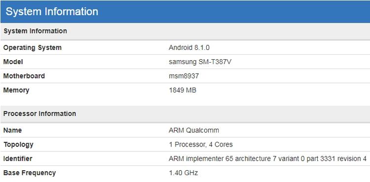 Samsung проектирует планшет Galaxy Tab на платформе Snapdragon 430