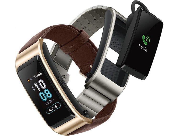 У гибрида фитнес-трекера и гарнитуры Huawei TalkBand появится новая версия