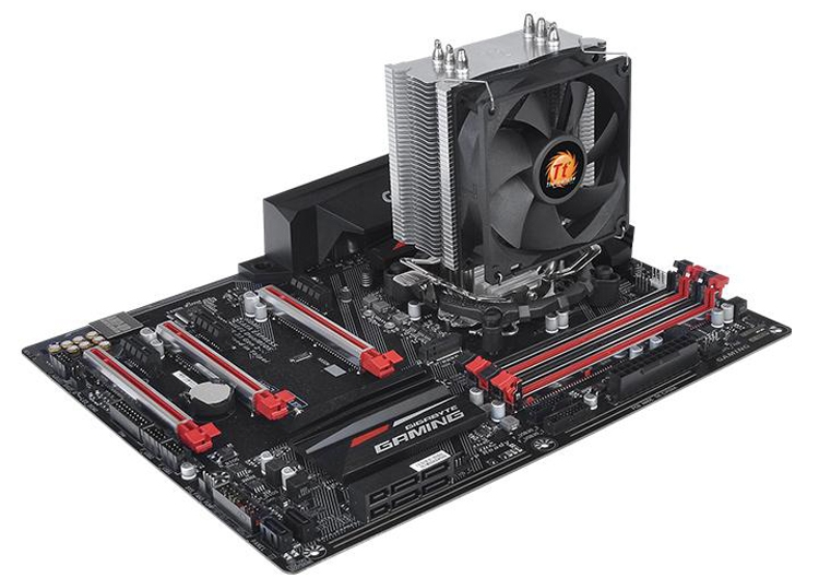 Кулер Thermaltake Contac 9 подходит для процессоров AMD и Intel
