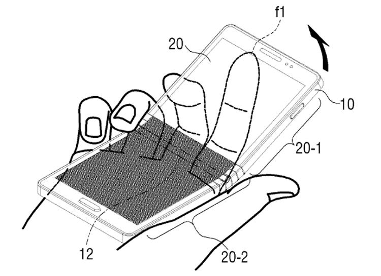 Патентное ведомство раскрыло дизайн гибкого смартфона Samsung