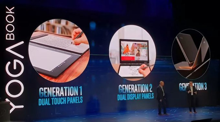 Дебют ноутбука Lenovo Yoga Book 2 Pro ожидается на выставке IFA 2018