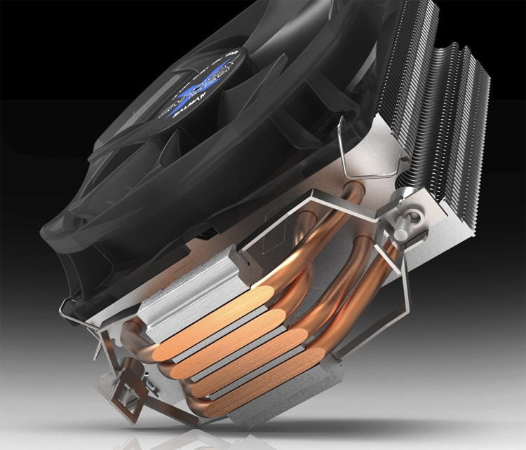 Тихий кулер Zalman CNPS9X Optima подходит для чипов AMD и Intel