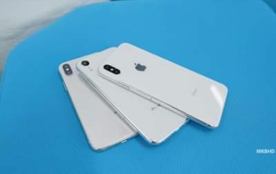 На видео представлены макеты новых iPhone