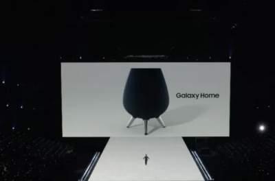 Samsung анонсировала новую колонку Galaxy Home
