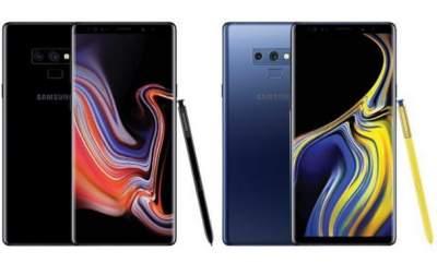 Samsung Galaxy Note 9 представлен официально