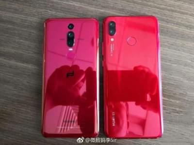 Huawei представила Nova 3 в неожиданном цвете