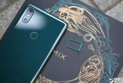 Xiaomi презентовала Mi MIX 2S в новом цвете