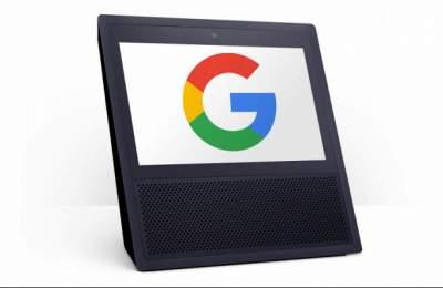Google готовит умную колонку с экраном