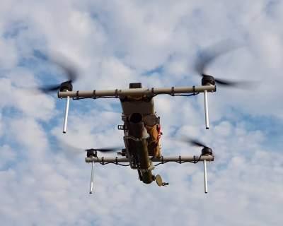 В Украине создали боевой дрон