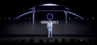Huawei показали новый смартфон Magic 2 с выдвижной камерой