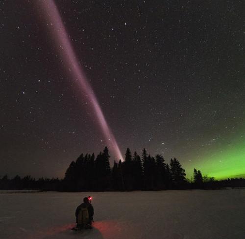 Небесный свет: сиянию ненашли объяснений