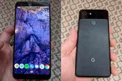 В Сети разместили первые фото Google Pixel 3